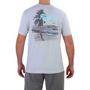 Reel Life Men's Short Sleeve Beach Graphic T-Shirt