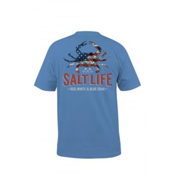 Salt Life American Crab Short Sleeve Shirt
