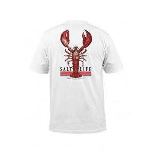 Salt Life Short Sleeve Lobster Quest Graphic T-Shirt