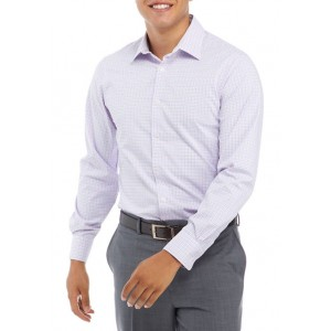J. M. HAGGAR™ Men's Medium Pink Check Dress Shirt