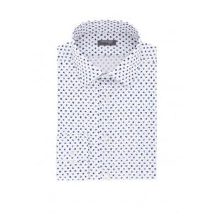 Madison Men's Slim Fit Printed Dress Shirt