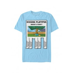 Disney® Phineas and Ferb Missing Platypus T-Shirt