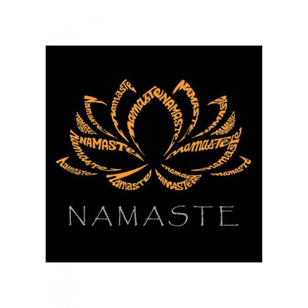 LA Pop Art Premium Blend Word Art Graphic T-Shirt - Namaste