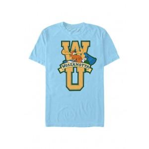 Rocky And Bullwinkle Rocky & Bullwinkle Wossamottta Letters T-Shirt
