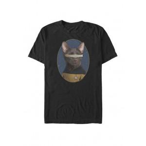 Star Trek The Next Generation LaForge Cat Transformation Short Sleeve T-Shirt