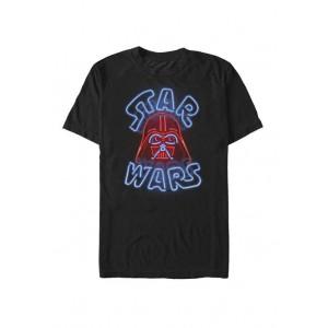 Star Wars® Neon Darth Vader Sign Short Sleeve T-Shirt