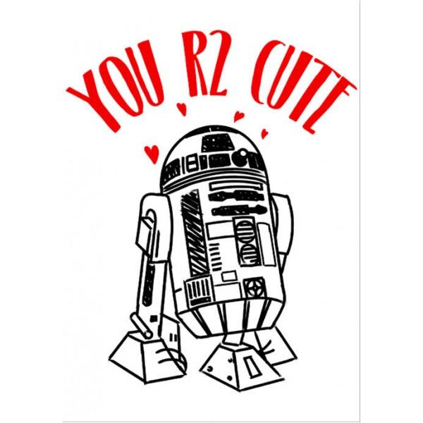 Star Wars® You R2 Cute Graphic T-Shirt