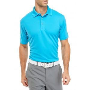 Pro Tour® Short Sleeve Diamond Texture Collared Shirt