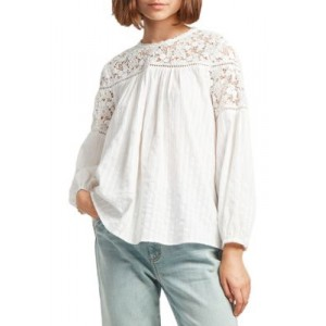 French Connection Coletta Cotton Long Sleeve Top