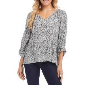 Karen Kane Women's Blouson Sleeve Top
