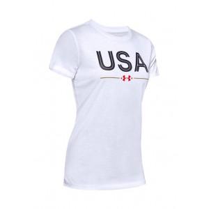 Under Armour® USA Classic Short Sleeve Crew Neck T-Shirt