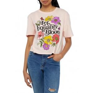 Cold Crush Junior's Let Equality Bloom Skimmer T-Shirt