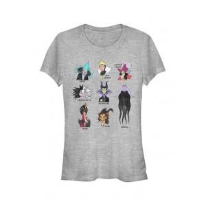 Disney Villains Junior's VILLIANS T-Shirt