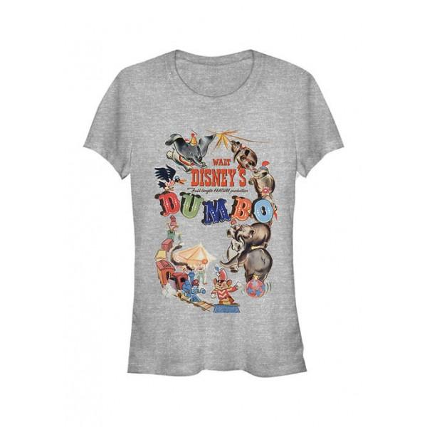 Dumbo Junior's Licensed Disney Theatrical Poster T-Shirt
