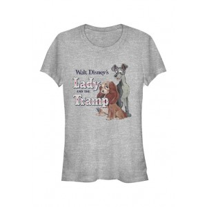 Lady and the Tramp Junior's Licensed Disney Lady And The Tramp T-Shirt