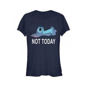 Lilo and Stitch Junior's Licensed Disney Not Today T-Shirt