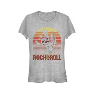 Lilo and Stitch Junior's Licensed Disney Rock And Roll Stitch T-Shirt