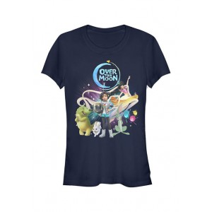 Over the Moon Junior's Over the Moon Moon Group T-Shirt