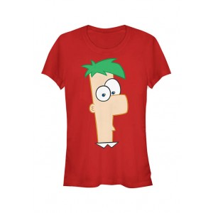 Phineas and Ferb Junior's Phineas and Ferb Large Ferb T-Shirt