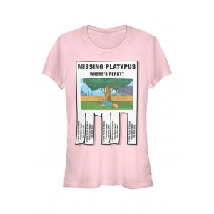 Phineas and Ferb Junior's Phineas and Ferb Missing Platypus T-Shirt