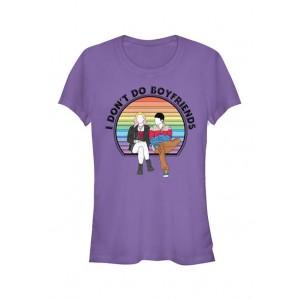 Sex Education Junior's Don't Do Boyfriends Graphic T-Shirt