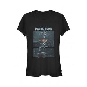 Star Wars The Mandalorian Junior's MandoMon Epi4 Show Me Graphic T-Shirt