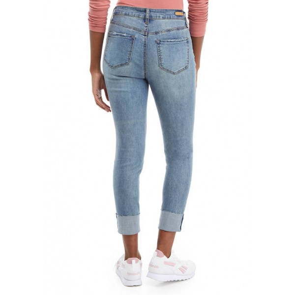TRUE CRAFT Junior's Mid Rise Skinny Ankle Length Jeans