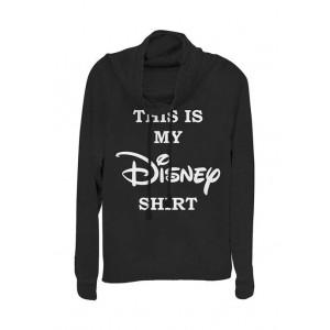 Disney Logo Junior's Licensed Disney My Disney Shirt Pullover Top