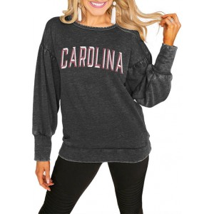 Gameday Couture NCAA South Carolina Gamecocks Puff Sleeve Pullover