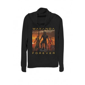 Marvel™ Black Panther Movie Wakanda Forever Cowl Neck Pullover