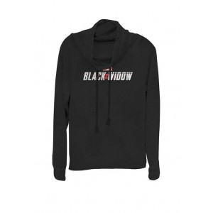 Marvel™ Black Widow Official Movie Logo Cowl Neck Pullover