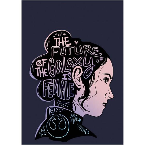 Star Wars Junior's Female Future Silhouette Graphic Pullover Top