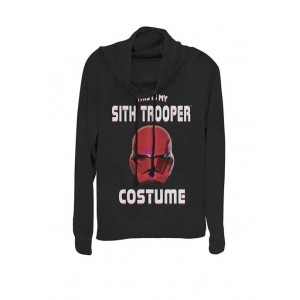 Star Wars® Rise Of Skywalker This Is My Sith Trooper Costume Cowl Neck Graphic Pullover
