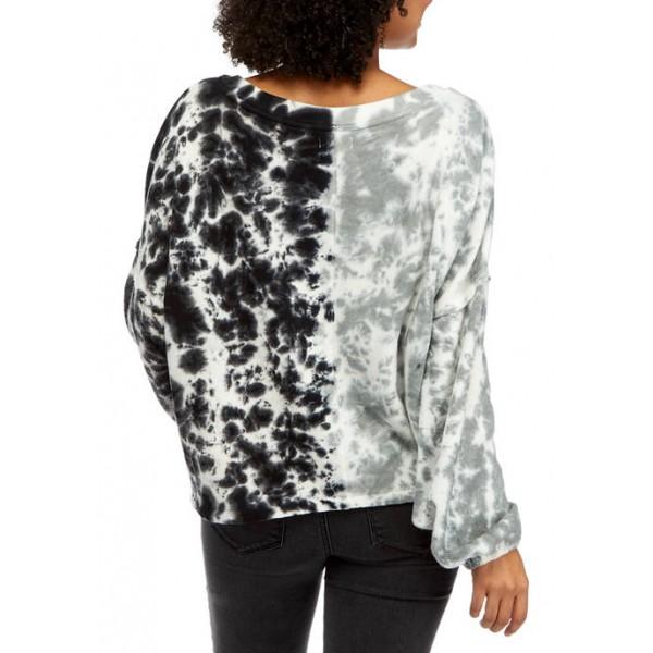 TRUE CRAFT Junior's Long Sleeve Crop Sweatshirt