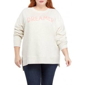 TRUE CRAFT Soft Shop Plus Size Crew Neck Sweatshirt
