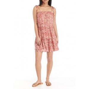 As U Wish Junior's Tie Strap Babydoll Dress