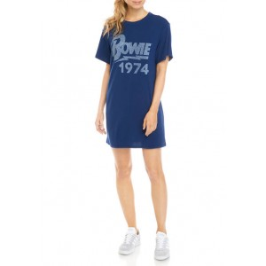 Bowie Junior's Short Sleeve Tunic Graphic Dress