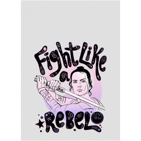 Star Wars Junior's Rebel Girl Graphic Tank