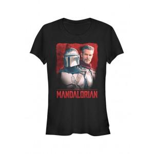 Star Wars The Mandalorian Junior's Mando and Cobb Graphic T-Shirt