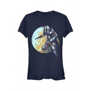 Star Wars The Mandalorian Junior's Moondo Lorian Graphic T-Shirt