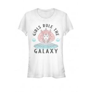 Star Wars® Padme Amidala Girls Rule The Galaxy Short Sleeve Graphic T-Shirt