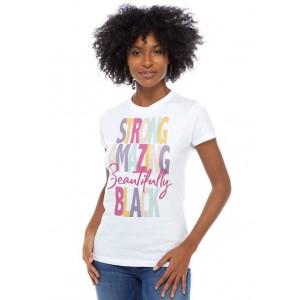 V-Line Junior's Beautifully Black T-Shirt