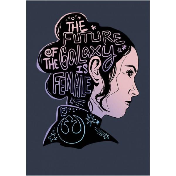 Star Wars Junior's Female Future Silhouette Graphic Tank
