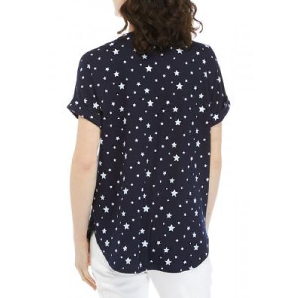 Crown & Ivy™ Women's Roll Sleeve Sweatshirt