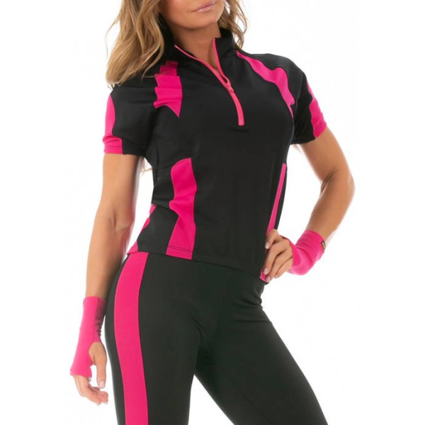 InstantFigure Cycling Two-Tone Top