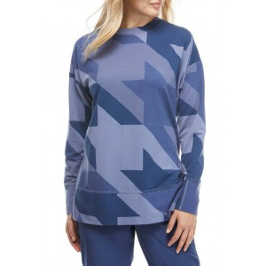 THE LIMITED LIMITLESS Women's Printed Tunic Sweatshirt