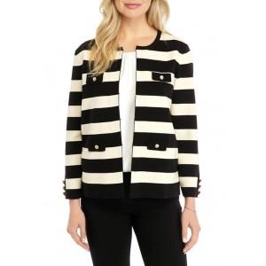 Anne Klein Women's Striped Sweater