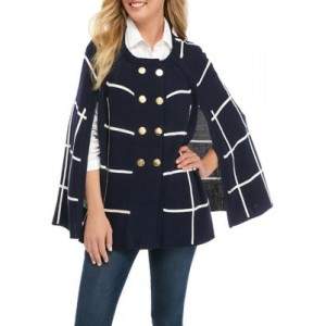 Crown & Ivy™ Women's Pullover Sweater Cape