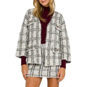Endless Rose Women's LUREX® Check Cardigan