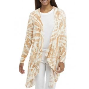 New Directions® Studio Women's Long Sleeve Open Front Cardigan